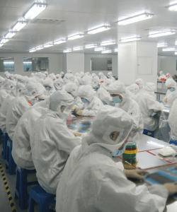 Inside the new clean room