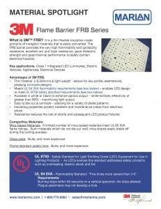 Marian Material Spotlight - 3M FRB