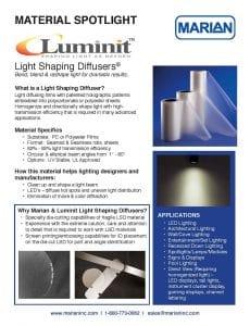 Material Spotlight - Luminit LSD