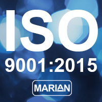 Marian ISO 9001:2015 Certification