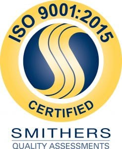 ISO 9001:2015 Smithers Quality Logo