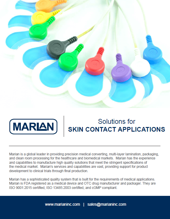 Solutions for Skin Contact Applications