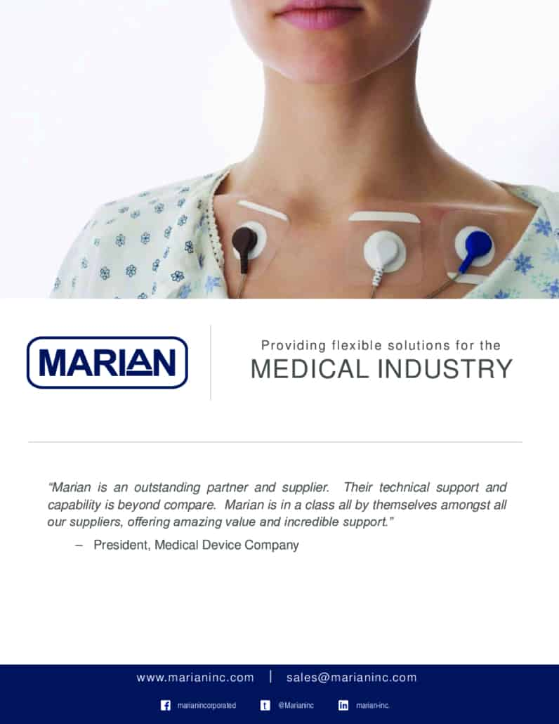 Marian Solutions for the Medical Industry Brochure