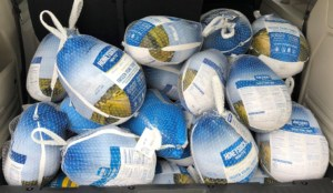 Donated Turkeys from Marian Fort Worth